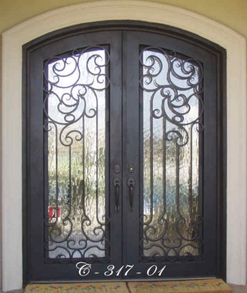 Replacement Windows Cost >> Iron Doors and Wrought Iron Doors in Mobile, AL