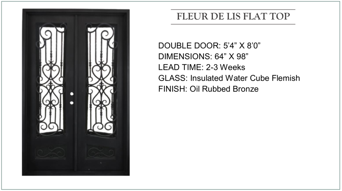 Old Mobile Iron Door Collection